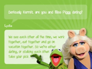 Miss Piggy Quotes About Food Kermit X Funny Quotes....