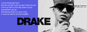 Drake Quotes Facebook Timeline Covers. QuotesGram