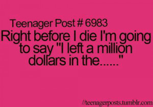 Totally Teen Quotes. :] | via Facebook