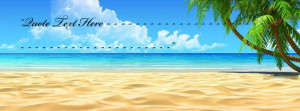 Beautiful Beach Facebook Name Cover Quotes Name Covers