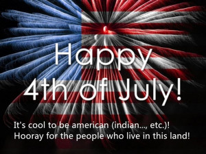 It's Cool To Be American (Indian…, Etc.)! Hooray For The People ...