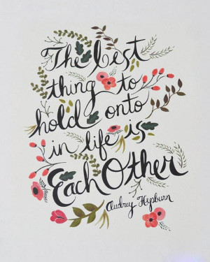 Beautiful Inspiring Words Typography Art Poster Quote from behance