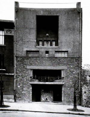 Adolf Loos. House for Tristan Tzara in Montmarte, Paris, 1925-1926