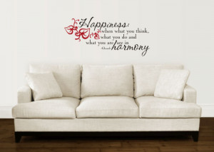 Wall decals quotes can turn walls into unique piece of art