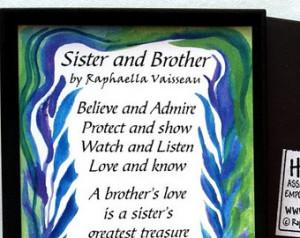 Super Big Sister Brother Poem And