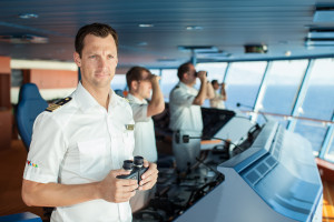 Adult Cruise Ship Captain...