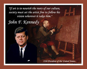 PRESIDENT-JOHN-F-KENNEDY-6-LAMINATED-PRINTS-WITH-HIS-QUOTATIONS
