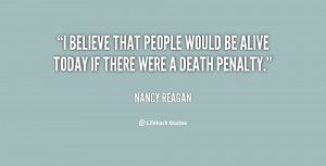 Nancy Reagan Quotes