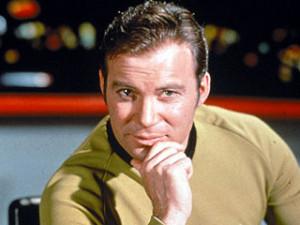 Commander Hadfield; This is Captain Kirk speaking