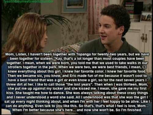 Boy meets world:)