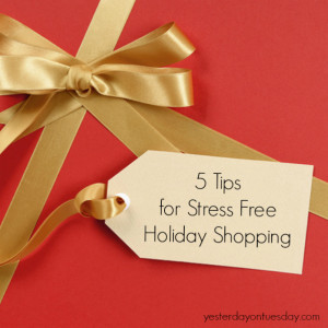 Tips for Stress Free Holiday Shopping}