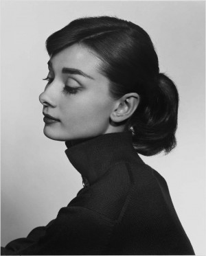Yousuf Karsh: Audrey Hepburn, 1956The French novelist Colette picked ...