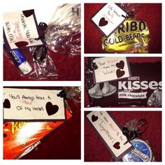 ... Hershey's kisses Day8: mints. Make a cute little clever quote to go