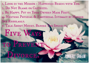... Divorce Lawyer Knows About a Happy Marriage: 5 Ways to Prevent Divorce