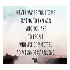 Never pass judgement on others
