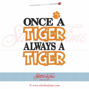 Tiger Football Sayings 5387 sayings : once a tiger