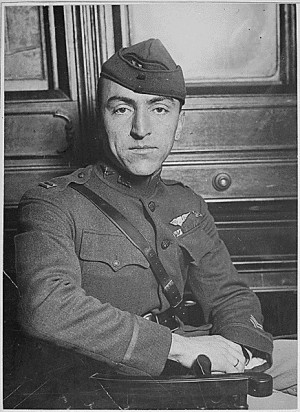 Captain Edward Rickenbacker, America's premier