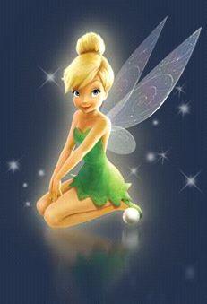 Cute TinkerBell pose