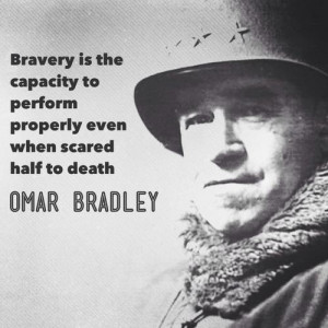 Gen. Omar Bradley (the GI's general) via greatestgeneration on tumblr ...