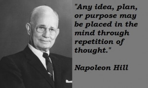 QUOTES OF NAPOLEON HILL
