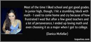 Good School Quotes More danica mckellar quotes