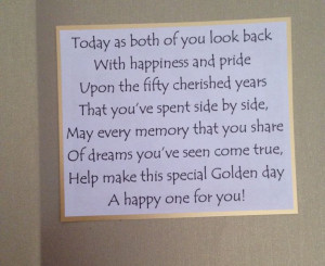 ... Wedding Anniversary Cards, 50Th Anniversaries, Golden Wedding Cards