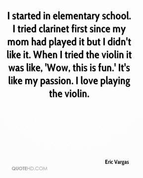 Clarinet Quotes