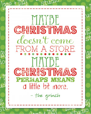 Grinch Stole Christmas Quotes