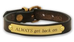 horse bracelet from wildhorsefeathers... More