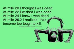 Marathon quote