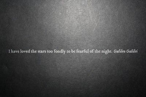 Galileo Quotes, Stars