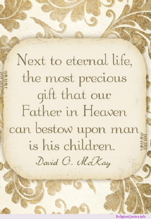 quote for parents of faith!