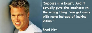 Brad pitt famous quotes 8