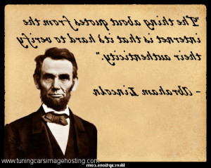 Abe Lincoln Quotes Better For A Man