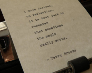 Terry Brooks Quote,
