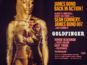 James Bond Movie - Goldfinger