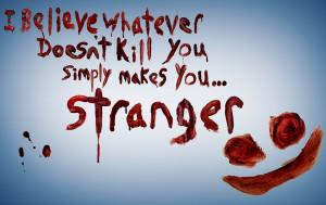 Joker quote written in blood by meho41
