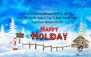 Happy Holidays Quotes For Friends With Images