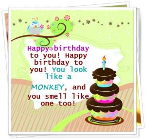 Humorous Birthday Wishes