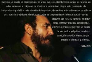 Fidel Castro 1995 quote