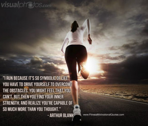 ... to be an athlete — or even aspire to be one — to start running