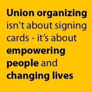 SOLIDARITY and changing people's lives.
