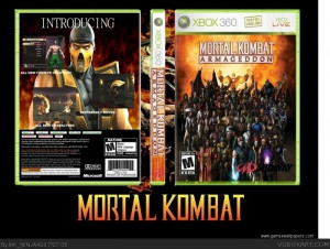 Mortal Kombat Armageddon...