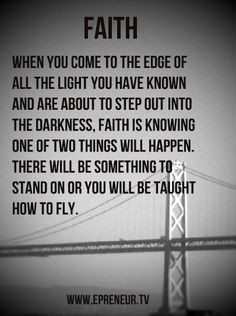... the faith, no matter how dark your day is #quote #inspiration More