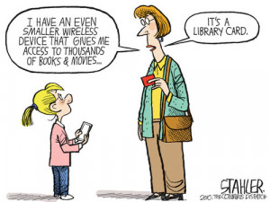Funny Library Quotes