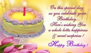 sweet surprise birthday