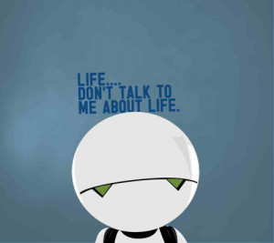 marvin the depressed robot