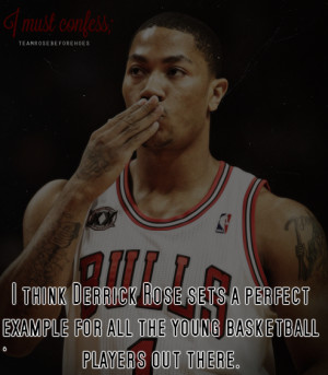Submit what you must confess about Derrick Rose here .