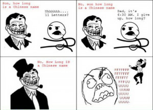 Related How Long Is A Chinese Name – Troll Dad
