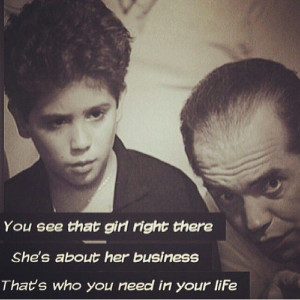 bronx tale ,movie quote